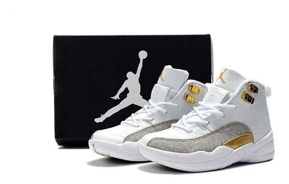 Nike Air Jordan 12 Niños Tallas 28 A 35