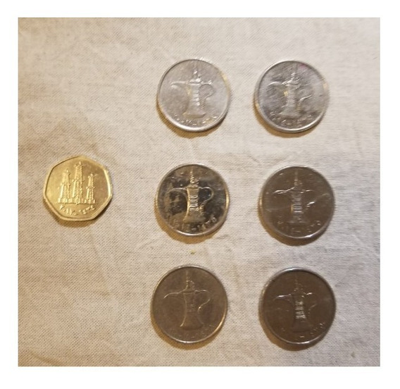 Monedas De Emiratos Árabes Unidos Dirham