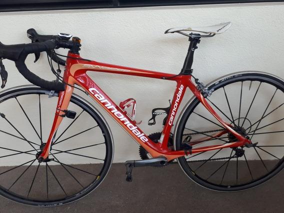Bicicleta De Ruta Cannondale Synapse Carbon Talla 48 Ultegra