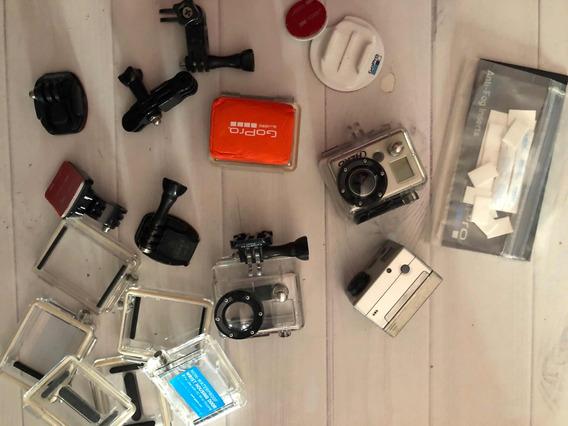 Kit Gopro 1 E 2 (muitos Acessórios)