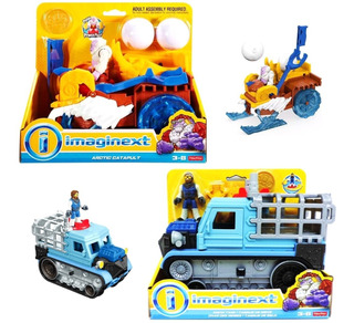 Imaginext Fisher Price Vehiculo Tanque De Nieve Yeti Ffr78
