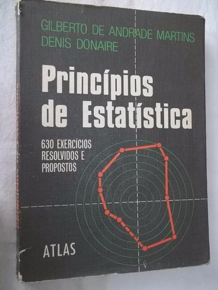 Livro - Principios De Estatistica - Matematica