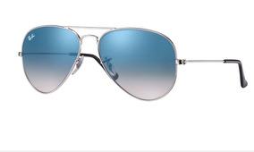e3c3cada3 Óculos Ray Ban Aviator 3025 Prata Espelhado 58mm - Óculos no Mercado ...