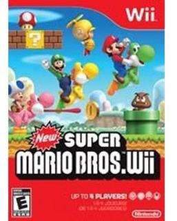 Caja De New Super Mario Bros. Wii (sólo La Caja)