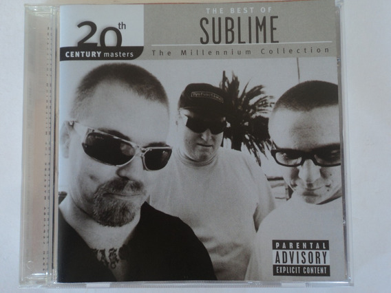 Cd-sublime-the Best Of 20th Century Masters:rock,ska,pop