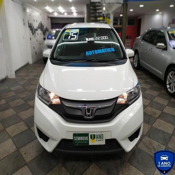 Honda Fit 1.5 Lx Cvt (flex) Automático 2015 Troco/financio