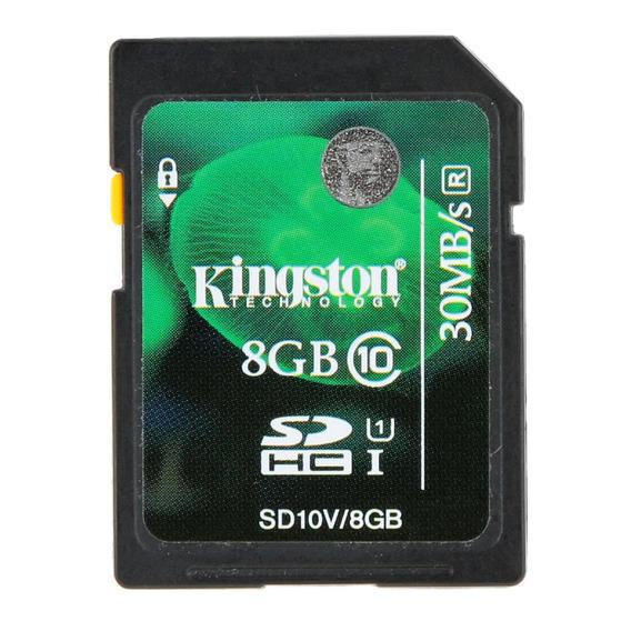 8g Sd Cartão Genuíno Original Kingston8g