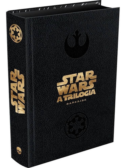 Livro Trilogia Star Wars Dark Edition - Novo Darkside