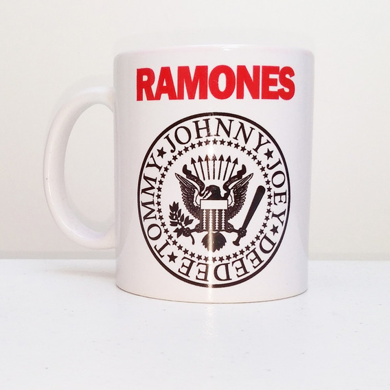 Caneca Ramones Hey Ho Lets Go 325 Ml
