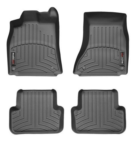 WeatherTech Custom Fit Front FloorLiner for Audi Q5 Black