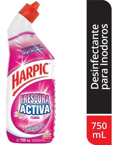 Imagen 1 de 1 de Harpic Desinfectante Para Indoros Liquido Floral 750ml