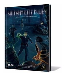 Libro Mutant City Blues Juego De Rol En Español Edge