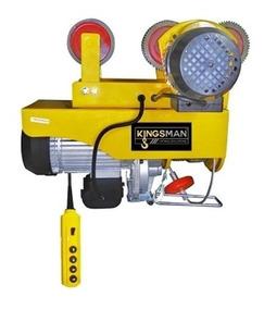 Polipasto Electrico Y Trole 600 A 990 Kg Con 20m Cable 220 V