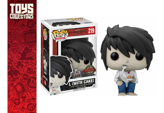 Funko Pop - L With Cake 219 Death Note