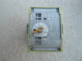 Rele Comati Timer C63-12-240v