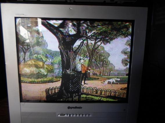Antiga Tv Tubo 20´´ Polegadas Gradiente Se Controle