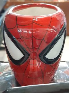 Tazas Tridimensionales Colección Marvel