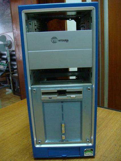 Gabinete Vitsuba Con 2 Usb Sonido Frontal Y Cooler
