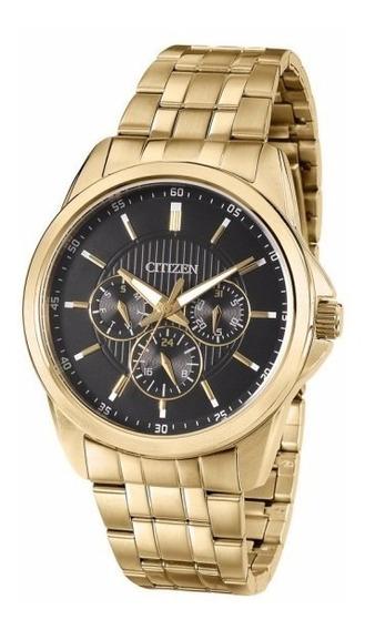 Relógio Citizen Masculino Social Tz20395u Ag8342 Dourado