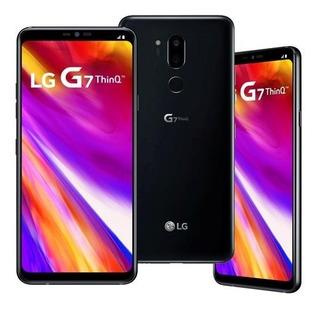 LG G7 Thinq 64 Gb Aurora Black 4 Gb Ram Vitrine Novo