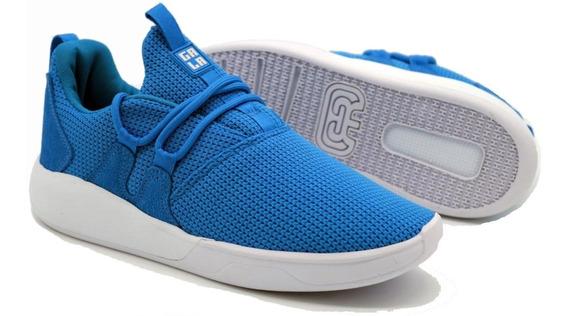 Tênis Hocks Galáctica Gala Blue Azul Sneaker Original Masculino E Feminino Confortável Promoção Envio Imediato