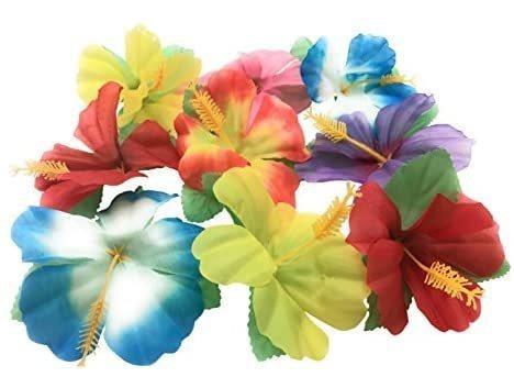 Imagen 1 de 2 de Oojami Flores Del Hibisco De Mesa Decoración