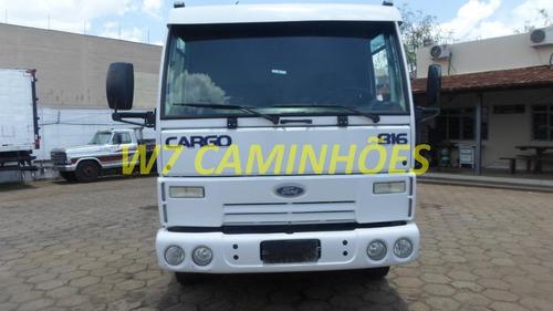 Cargo 816 Ano;2013/2013 Branco Carroceria 6.20 Unico Dono