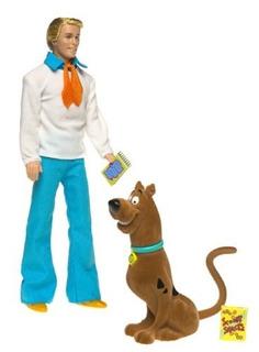 Juguete Barbie Ken Como Fred En Scooby-doo Muñeca