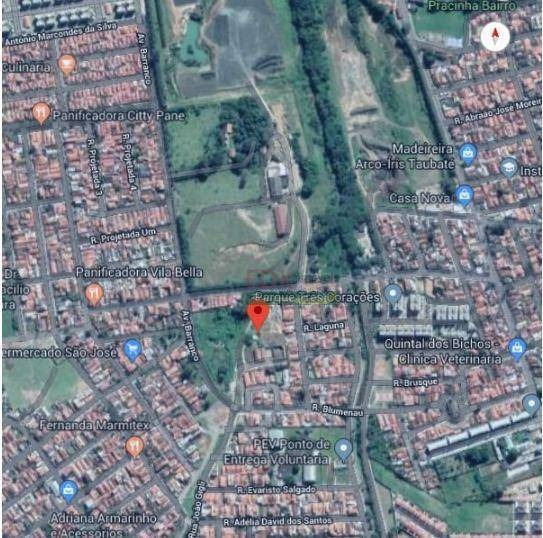 Excelente Área Para Incorporação Por R$ 6.000.000,00- Jardim Santa Catarina - Taubaté/sp - Te0967
