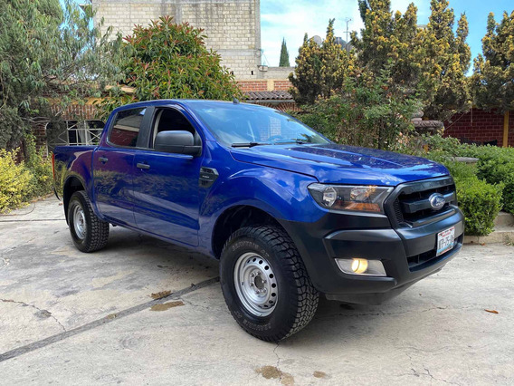 Ford Ranger 2018 Xl Cabina Doble 4x2 Gasolina Manual