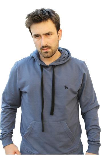 Moletom Blusa Frio Acostamento Masculino Com Capuz Cores- Nf
