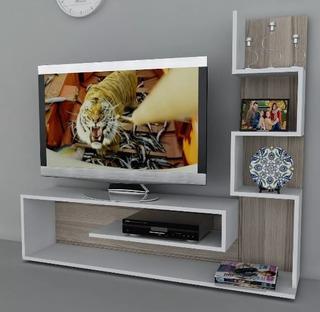 Centro De Entretenimiento Tv De Lujo Moderno Minimalista