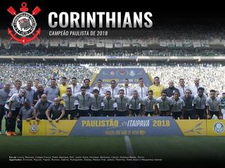 Box Corinthians Campeão Paulista 2018