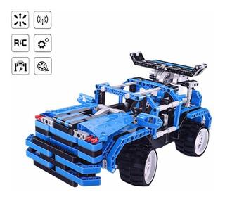 Lego Jeep Tipo Tecni Marca Qi Zi Le Blocks