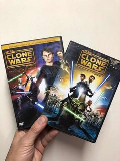 Dvd Lote Star Wars Clone Wars Y Lego Originales Oferta!