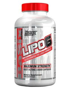 Lipo 6 - Nutrex Research 120 Cápsulas