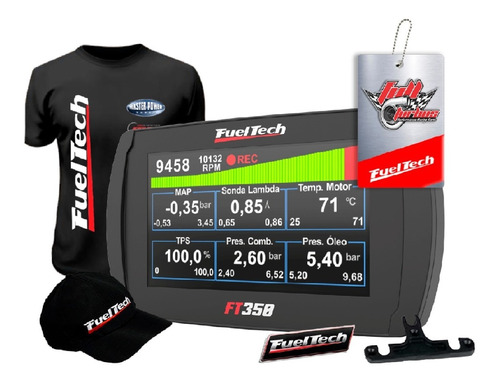 Fueltech Ft350 + Ultra Brindes+ 12x S/juros S/chicote