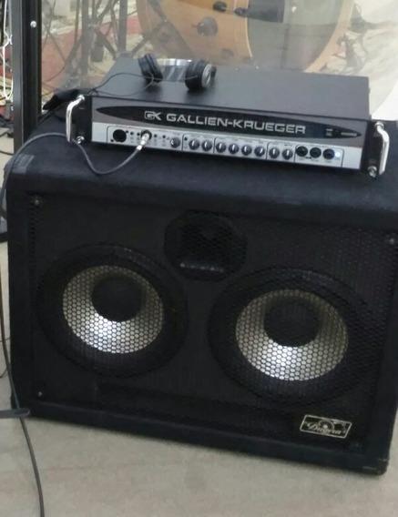 Cabeçote Gk 400 Rb Mark Iv + Gabinete Ultra Bass 500w