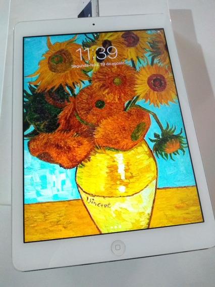 Baixou iPad Air 16gb - Wifi - Prata - A1474 - Ios 12.4 C/ Película De Vidro