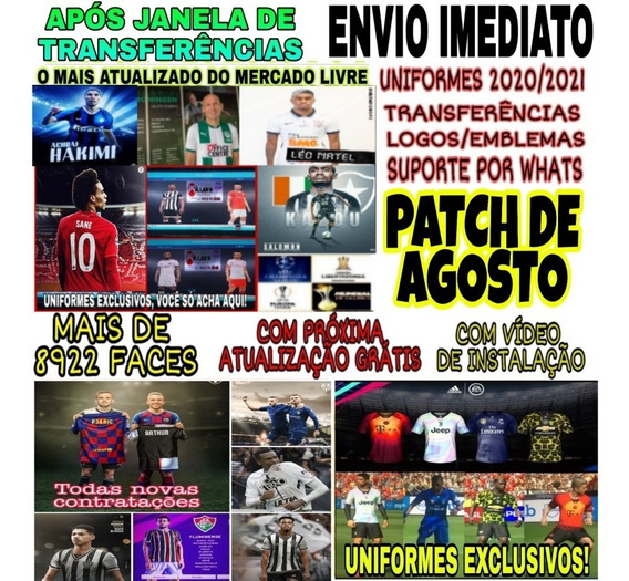 Patch Pes 19 Ps4 Option File Atualizado 2020 + Brinde