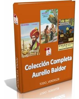 Colección Completa Aurelio Baldor 3 Pdf