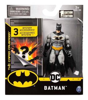 Batman Dc Figura Articulada 10 Cm Accesorios 67801b Educando