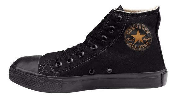 Tênis Converse All Star Ct Cano Alto Monochrome Black
