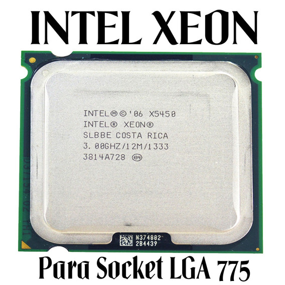 Processador Intel Xeon X5450 3.0ghz Lga775 + Pasta Térmica