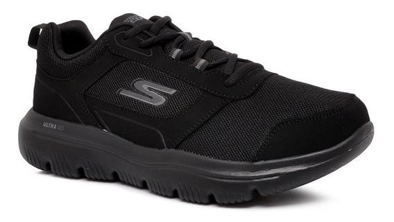 Tênis Skechers Go Walk Evolution Gom-54734 Preto