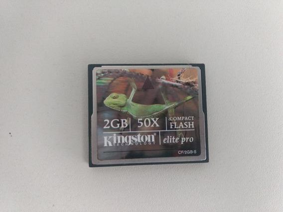 Cartão De Memória Kingston 2gb Compact Flash - Elite Pro