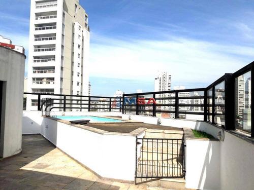 Cobertura Duplex Á Venda Em Perdizes, Com 236,0m2, 2 Suítes, Mais 01  Dormitório, Piscina, Churrasqueira E 3 Vagas De Garagem. - Co0323