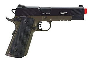 Pistola De Airsoft Marca Kwa Modelo 1911 Mark Iv Dual Tone