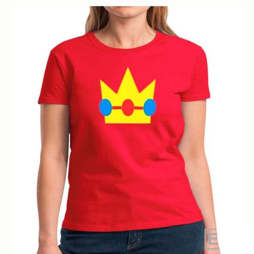 Camiseta Princesa Peach Mario Bros