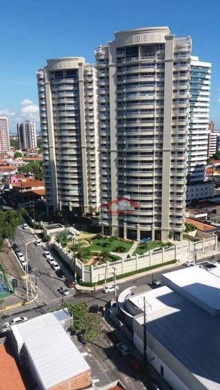 Apartamento Com 3 Dormitórios À Venda, 123 M² Por R$ 1.650.000,00 - Fátima - Fortaleza/ce - Ap0635